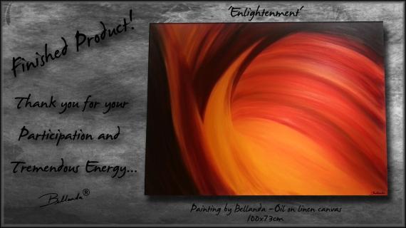 Final Product:  Enlightenment.Bellanda ®