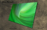 """Naissance du Papillon"" Oil on Canvas 100x73cm Price: 300€ + Shipping - Bellanda ®"