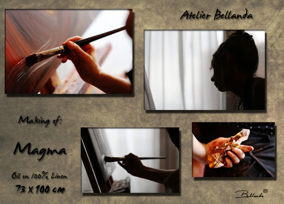 Making of MAGMA By BELLANDA ®