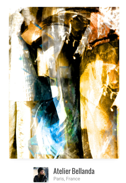 Convergence - Mixed Media Art by Bellanda