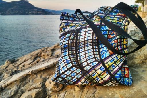Colors of Paris Tote Bag