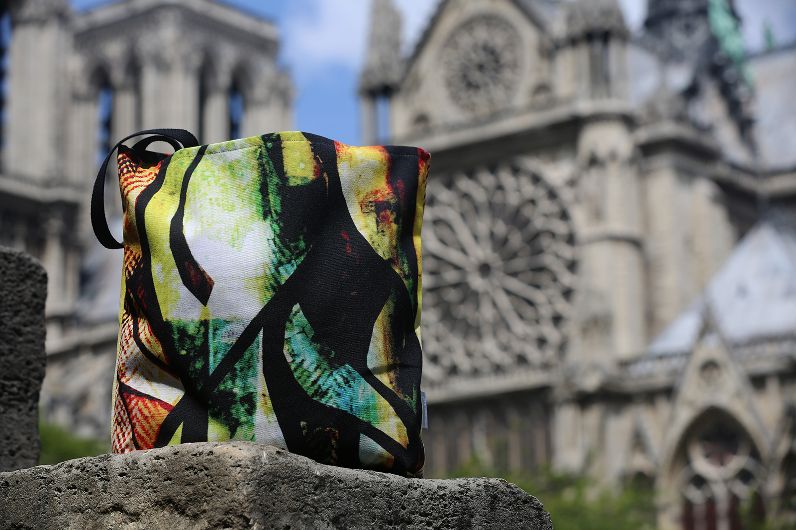 La Recontre Wearable Art Tote designed by Bellanda