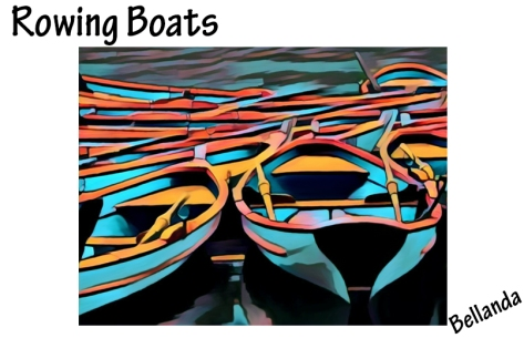 Rowing Boats in Paris