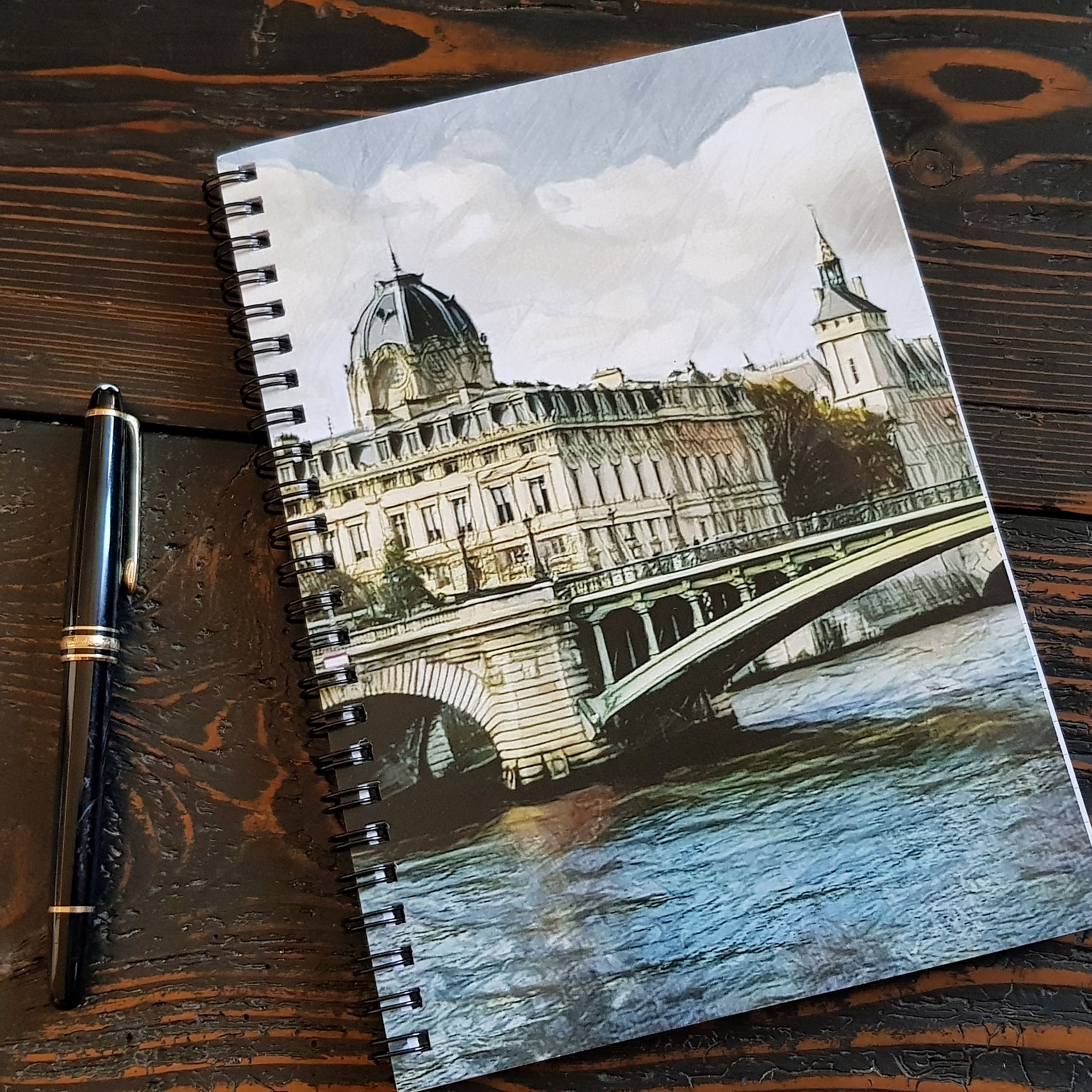 Paris on Mind by Bellanda - notebook